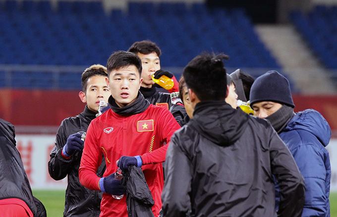 U23 Việt Nam sung sức, sẵn sàng đấu Hàn Quốc - 6
