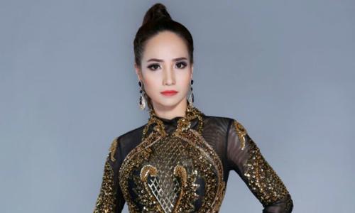 Bảo Ngọc làm đại sứ thiện chí tại Hoa hậu Doanh nhân hoàn vũ 2018