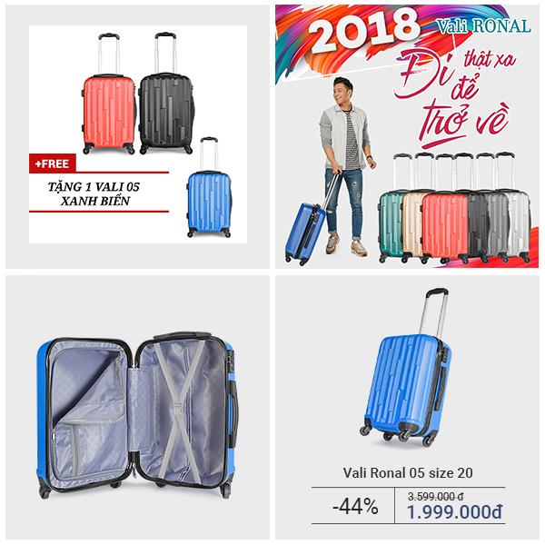 7 mẫu vali, ba lô thời trang đón xuân