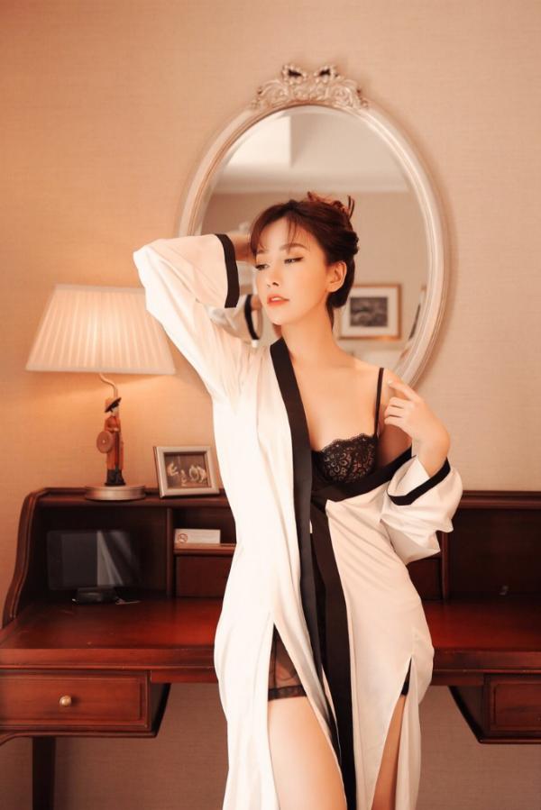 Hoa hậu Lam Cúc lần đầu tung bộ ảnh sexy - 6