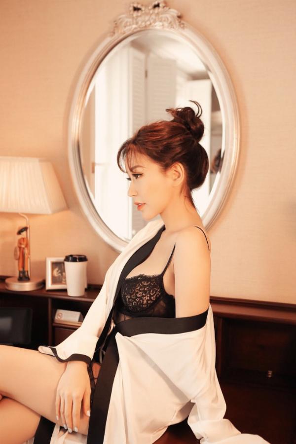 Hoa hậu Lam Cúc lần đầu tung bộ ảnh sexy - 8