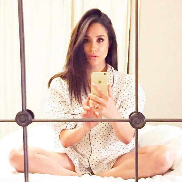 Meghan từng khá tích cực chia sẻ trên các tài khoản mạng xã hội. Ánh: Instagram