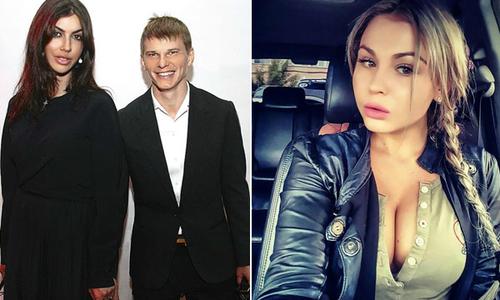 Vợ Arshavin dọa cắt ngón tay người mẫu vì ghen