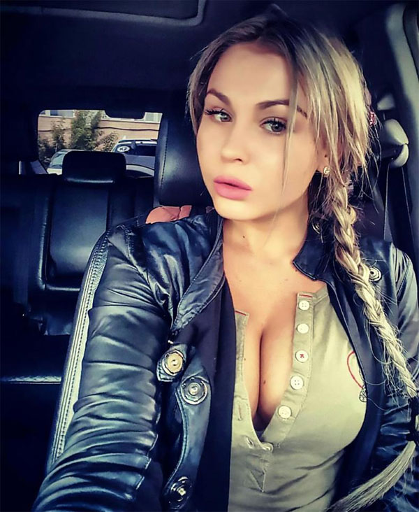 Người đẹp Olga Semenova
