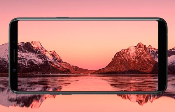 Smartphone màn hình 5,7 inch tràn viền giá 5 triệu đồng