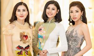 Hà Lade đọ nhan sắc với Đào Hà, Khánh Phương trong event ở Sài Gòn