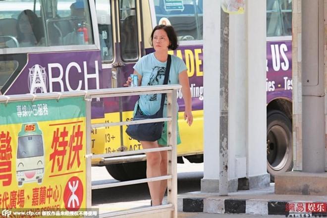 Lam Khiết Anh tuổi trung niên sống vất vả, nghèo khó. Ảnh: 163