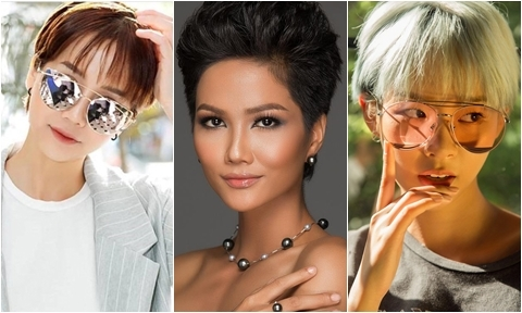 H' Hen Niê và loạt mỹ nhân Việt lăng xê trào lưu tóc tém cá tính
