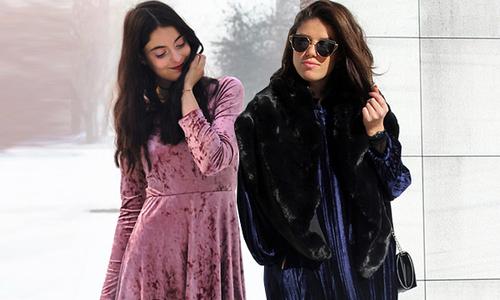 10 cách diện đồ nhung hợp mốt mùa đông