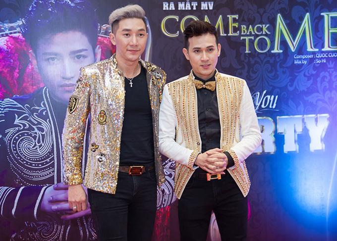 Nguyên Vũ và Nam Phong có mối quan hệ thân thiết.