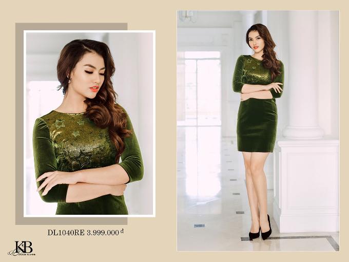 KB Fashion đã rất cao thủ trong việc mix & mactch từ 2 chất liệu đinh xu hướng thời trang năm nay để có một thiết kế đầy sang chảnh!