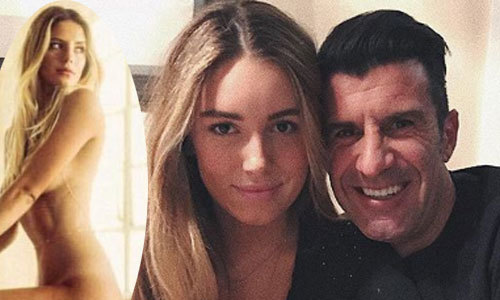 Ái nữ của cựu danh thủ Figo liên tục bị đăng ảnh nóng giả mạo