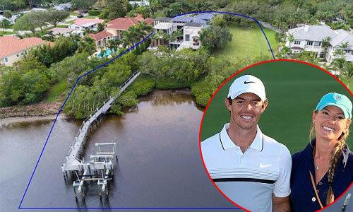 Biệt thự ven hồ của cựu golfer số một thế giới
