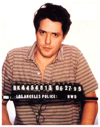 Hugh Grant bị bắt năm 1995 vì mua dâm.