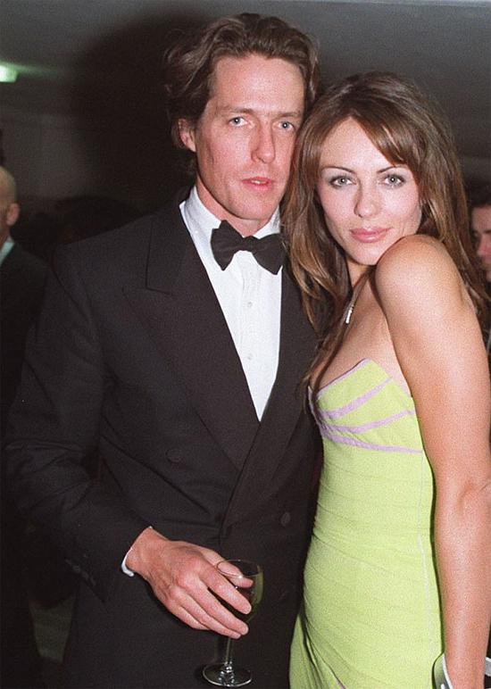 Hugh và Elizabeth Hurley từng là một cặp đôi đẹp của showbiz.