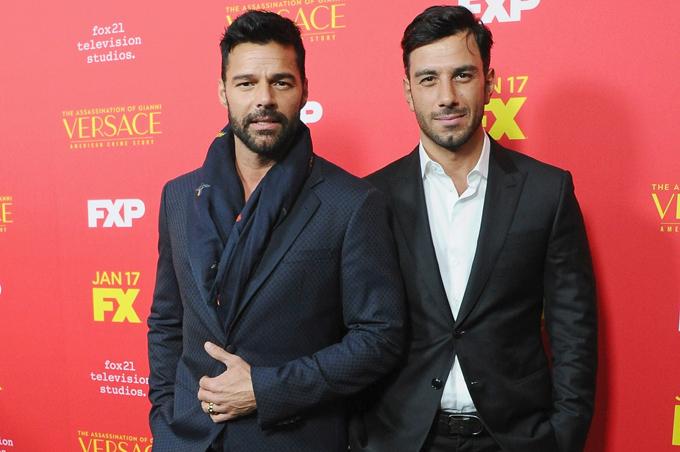 Ricky và Jwan Yosef đã trở thành bạn đời của nhau.