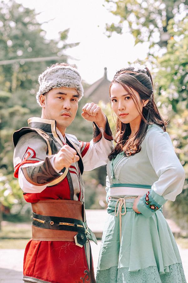 Ưng Hoàng Phúc bế Kim Cương - 5