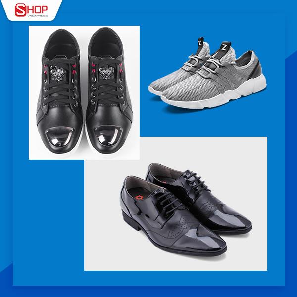 Lựa chọn những đôi giày phù hợp trong từng sự kiện đem lại sự tiện lợi, giúp nam giới trở nên thời thượng. Lúc này, bạn nên chú ý đến chất liệu vàphom dáng giàykhi kết hợp trang phục.