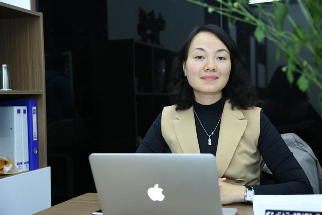 Bà Lại Thu Hương  Phó tổng giám đốc Công ty cổ phần Công nghệ và thiết bị VPM.