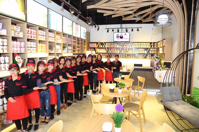 Chuỗi cửa hàng Xiang Piao Piao mang đến không gian trải nghiệm thú vị cho khách hàng.