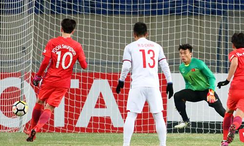 4 lần thủ môn Bùi Tiến Dũng chiến thắng penalty trên đấu trường quốc tế