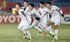 Siêu phẩm của sao trẻ Quang Hải vào lưới U23 Hàn Quốc
