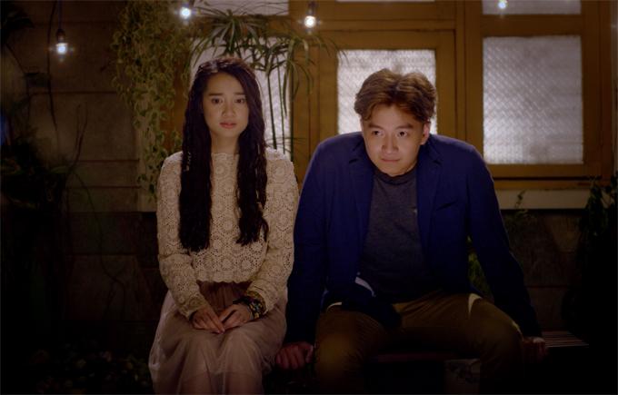 Nhã Phương và Ngô Kiến Huy từng đóng vai chính trong phim Yêu đi, đừng sợ của đạo diễn Stephane Gauger.
