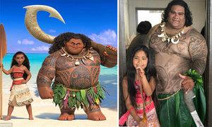 Chàng thu ngân nổi tiếng vì giống hệt Maui trong phim 'Moana'