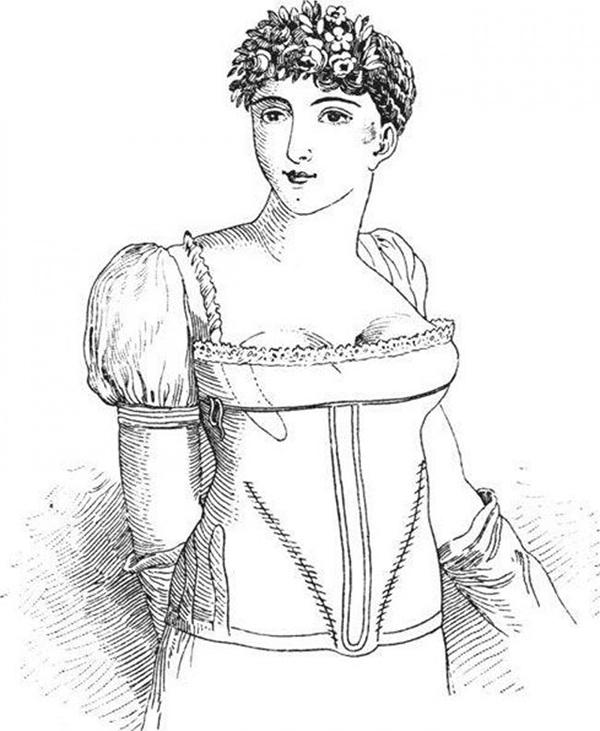 Mặc áo ngực chia đôi Từ thế kỷ 16 đến thế kỷ 19, phụ nữ thường mặc những chiếc áo nịt ngực bó sát đến nghẹt thở và tìm đủ mọi cách để đôi gò bồng đảo trông đầy đặn hơn. Tuy nhiên, từ sau thế kỷ 19, họ lại chuộng kiểu áo ngực chia đôi, làm cho hai bên ngực càng xa nhau càng tốt.