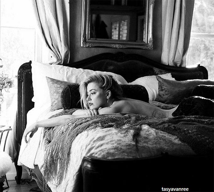 Amber Heard quyến rũ qua ống kính của người tình cũ.