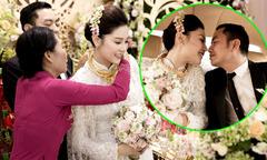 Ngọc Duyên đeo đầy vàng trong đám cưới với chồng đại gia tại Vũng Tàu