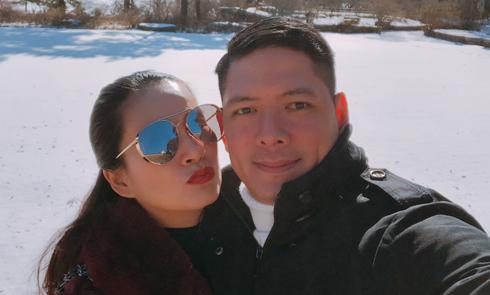 Vợ chồng Bình Minh sang Hàn Quốc hâm nóng tình cảm sau sóng gió