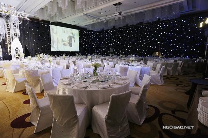 Theo dự kiến, tiệc cưới tại Hà Nội của cặp đôi sẽ có khoảng hơn 500 vị khách.