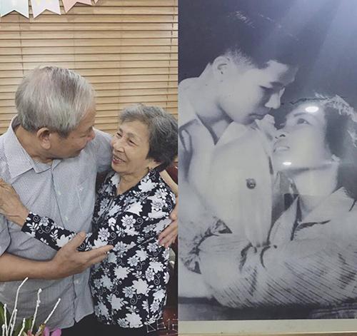 Dù ông bà tuổi đã cao nhưng tình cảm của hai người vẫn ngọt ngào như thời thanh xuân.