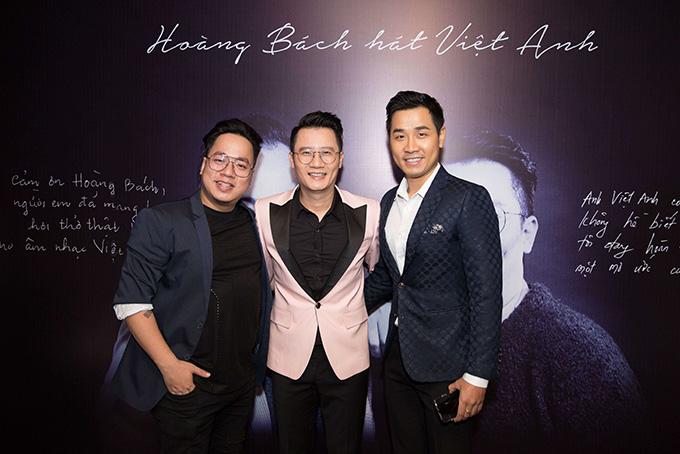 MC Tùng Leo (trái) và MC Nguyên Khang.