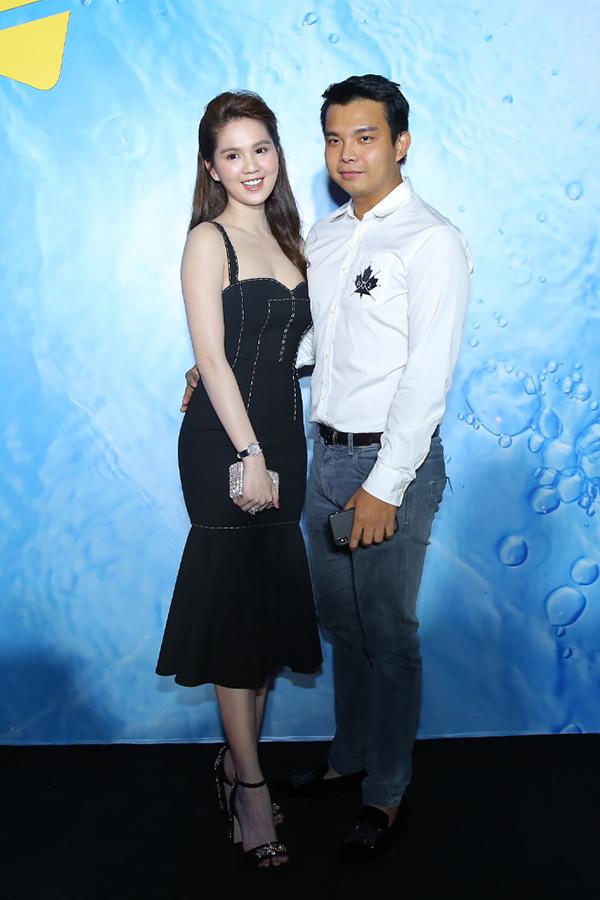Một người bạn thân khác của Ngọc Trinh là stylist Đỗ Long.