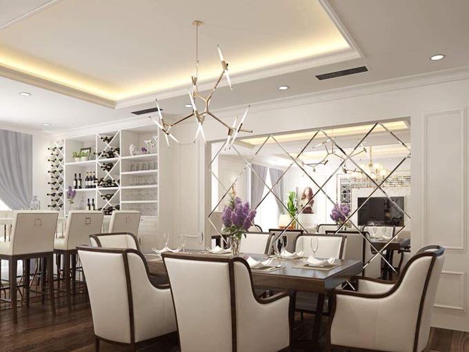 Tổng trị giá nơi ở mới của mẹ con Phi Thanh Vân, tính cả nội thất là gần 10 tỷ đồng.