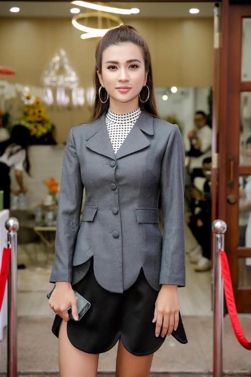 Diễn viên Kim Tuyến cho biết sẽ áp dụng các giải pháp làm đẹp tại spa của Diệp Bảo Ngọc.