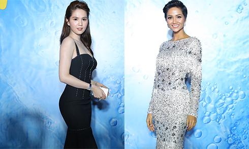 Ngọc Trinh gợi cảm, Hoa hậu H'Hen Niê rạng rỡ trên thảm đỏ Tech Awards 2017