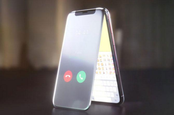 Kênh YouTube Curved/Labs trình diễn ý tưởng thiết kế iPhone X nắp gập.