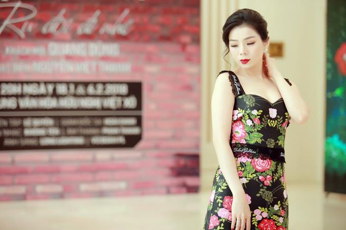 Giọng ca Tình lỡ cảm thấy thích thú khi được tận hưởng cái lạnh của Hà Nội, nơi cô sinh ra và lớn lên.