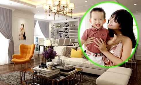 Phi Thanh Vân mua nhà gần 10 tỷ, mừng con trai lên 2 tuổi