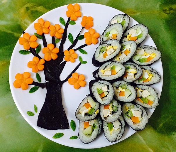 Những món ăn đẹp chẳng nỡ ăn của cô gái Phú Thọ - 3