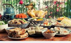 Đầu bếp Việt chia sẻ cách nấu mâm cỗ chuẩn vị Tết