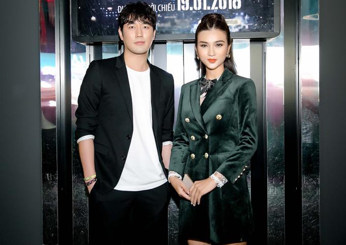 Kim Tuyến gặp gỡ tài tử người Hàn Quốc Jo Han Sun. Anh đóng vai chính trong Em trai tôi là găng tơ.