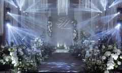 Đám cưới lấp lánh ánh bạc của cặp uyên ương Hà thành