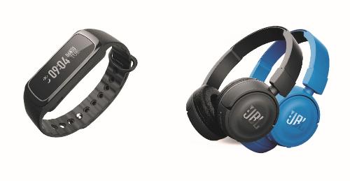 Quà tặng Heart Rate G30/G10 và tai nghe Bluetooth JBL T450BT sành điệu.