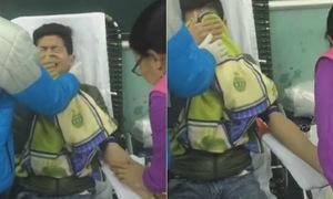 Nam sinh dù sợ kim tiêm vẫn tình nguyện đi hiến máu