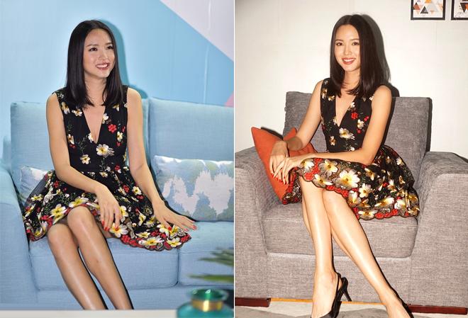 Nhan sắc gái một con của người đẹp Trung Quốc.