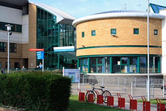 Bệnh viện Princess Alexandra ở Anh.